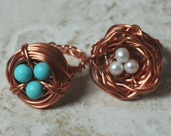Bird nest ring, one piece (item ID BirdR)