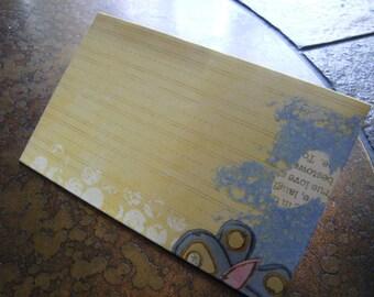 Sunny Butterflies Traveler's Journal 2 Pocket Folder-Field Notes