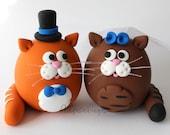 Custom Cat Wedding Cake Topper
