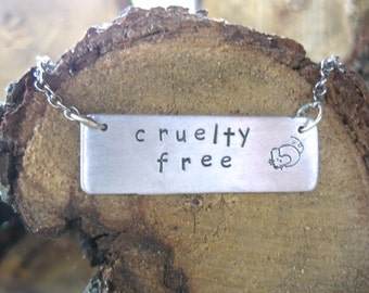 Cruelty Free Mouse Necklace
