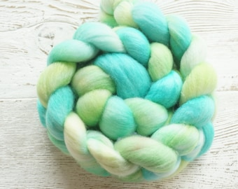 Superfine Merino Combed Top, Spinning Fiber, Hand Dyed