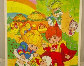 Vintage 1983 Hallmark Rainbow Brite Frame-Tray Puzzle 4602B-1