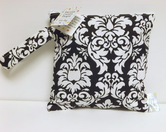 Extra Small Wet Bag - Wet Bag - 8 X 8 - Dandy Damask