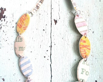 Grain Sack Necklace - Fresh and Ecofriendly