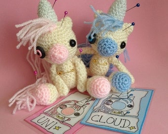 Made to Order - Amigurumi Custom Voodoo Unicorn