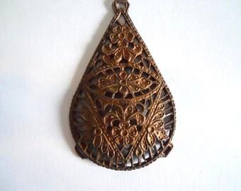 Antique Brass Stamping