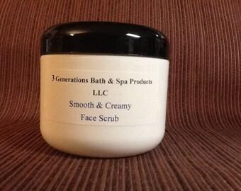 Smooth and Creamy Face Scrub