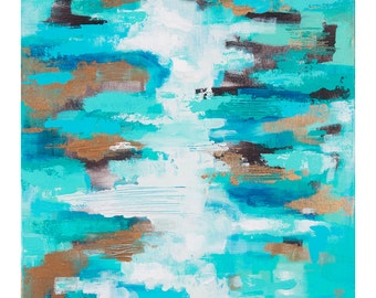 Sea of Blues Print