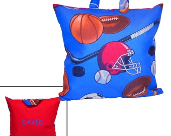 PERSONALIZED PILLOW for  TRAVEL - Sports
