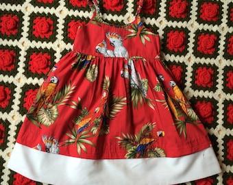 Girls Tropical Dress 5/6