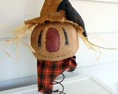 Primitive Scarecrow  Doll Fall decoration nodder