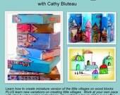 DVD Art Workshop, Mixed Media Workshop - It takes a Village 2