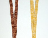 Wood Grain Lanyard - Available in Natural or Bark - READY TO SHIP