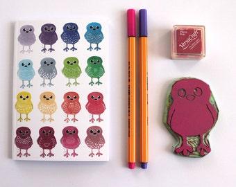 Sale Doodle Bird Notebook