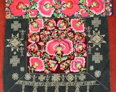 Textiles -  Hmong Baby Carrier/ Hmong / Miao fabric / Hmong embroidery panels - 1017