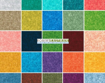 """SALE! 40% Off + Free Ship SQ25 Robert Kaufman FUSIONS Meadow Precut 5"""" Charm Pack Fabric Quilting Cotton Squares CHS-387-42"""