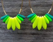 Spark Earrings: Mojito