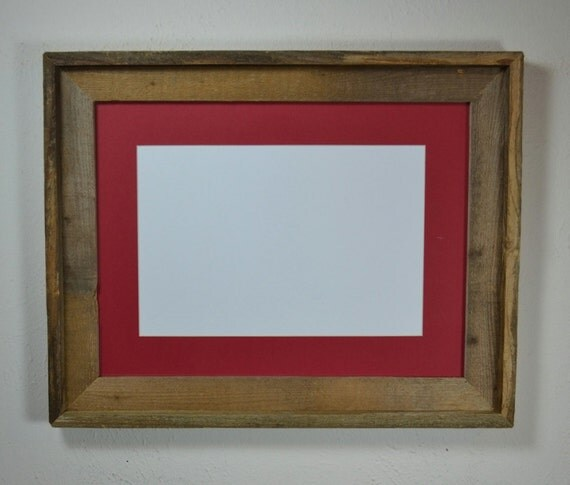 12x16 Frame From Reclaimed Wood With Natural Patina By