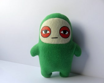 Kids Toys Plush Stuffed Green Glum Ninja Doll