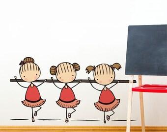 Ballet Class - Wall Decal - Wall Sticker