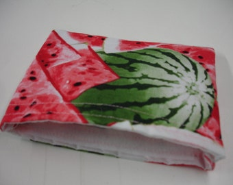 Watermelon Reusable Snack Bag Ready to Ship