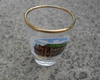 Austrian Souvenir Shot Glass