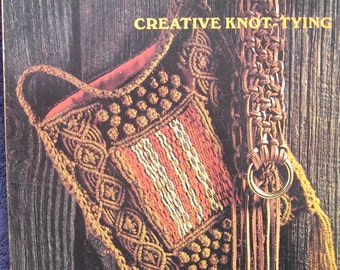 Macrame Creative Knot Tying Book by Sunset