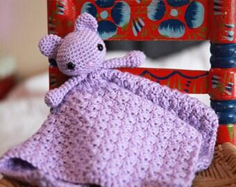 Little Kitty Lovie baby gift blanket stuffed animal toy