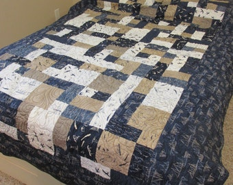 Nautical Theme Quilt - REDUCED