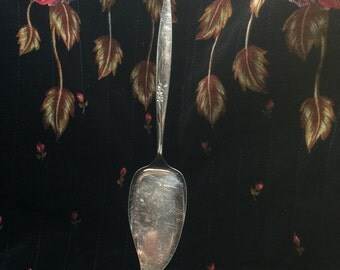 Enchantment /Gentle Rose PIE SERVER ca 1960 by Oneida Community