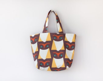 Brown Owl Lunch Bag