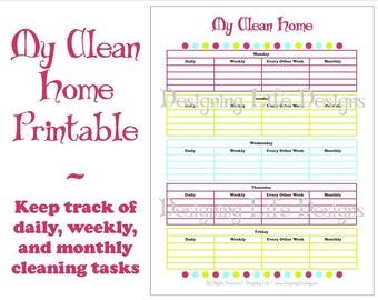 Home Organization Checklist Pdf Printable Basic Organizing