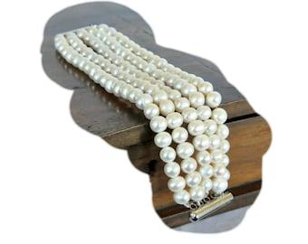 Handmade Weddings Freshwater Pearl Bracelet Bridsmaids Gifts