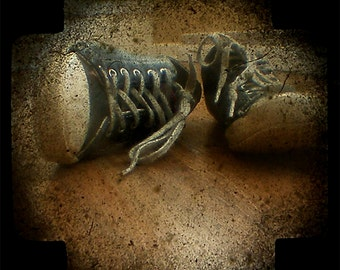 All Star Vintage Shoes fine art photograph - ttv - through the viewfinder
