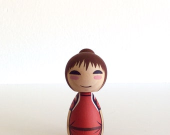 Kokeshi Doll. Chihiro from Spirited Away