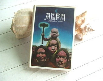 1972 Science Fiction Hardcover Book ALPH by Charles Eric Maine