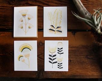 Desert Flowers Card Set
