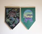 Chalkboard Minis // Blackboard // Banner // Sign // Chalk // School // Wall Hanging // Black or Green // Wedding // Birthday // Decor
