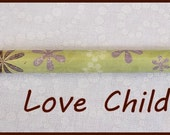 """Paper Bead Roller and Quilling Tool - Love Child Design - Kraft-i Roller - 1/8"""" or 3/32"""" Slotted - tutorial included"""