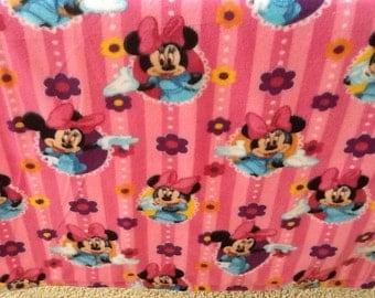 Minnie Mouse Sewn Fleece Blanket