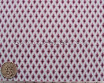 Free Spirit TUDOR WINDOWS Plum - Tula Pink - Cotton Quilt Fabric by the Yard, Half Yard, or Fat Quarter Sky Purple Lilac Diamonds