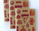 Ryan Bubnis Scout Books Notebooks Set