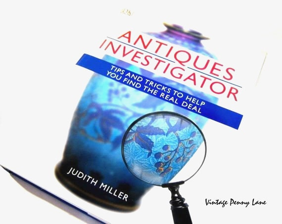 Hard Cover Resource Book, Antiques Investigator