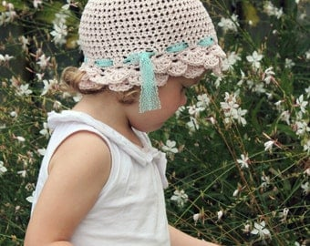 Download Now - CROCHET PATTERN Rose Petal Cloche - Baby to Adult - Pattern PDF
