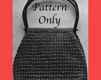 1968 Knitted Purse Pattern