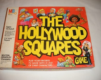 Vintage The Hollywood Squares Board Game 1980