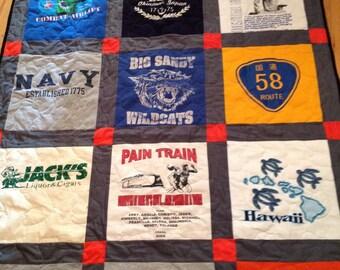 16 tshirt quilt