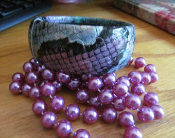 purple snake bangle