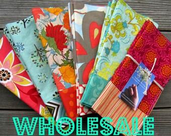 WHOLESALE - Reversible Cotton Napkins- 12 sets of 4