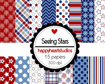 Digital Scrapbook  SeeingStars-INSTANT DOWNLOAD